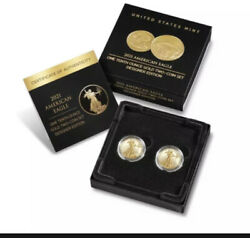 American Eagle 2021 One-tenth Ounce Gold Two-coin Set Designer Edition Confirmed