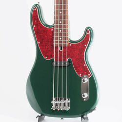 Floor Model Moon Gm-custom With Oxalis Opb Forest Green Electric Bass Rose Fb