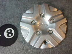 Qty X1 Pacer Custom Wheel Center Cap 324l154 Re-furnished In Metallic Silver