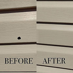 Vinyl Siding Repair Kit Cover Any Holes Or Blemishes On Vinyl Siding 2 Patches
