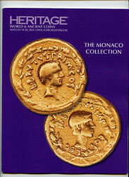 Coin Catalog The Monaco Collection, Heritage Auctions August 19-20, 2021