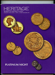 Coin Catalog Platinum Night Feat. Una And The Lion, Heritage Auctions August 2021