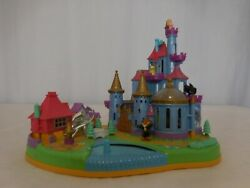 Polly Pocket Beauty And The Beast Disney's Belle Magical Castle Vintage