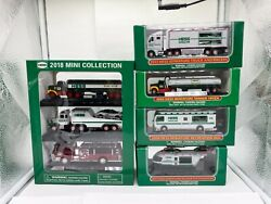 2018 2013 2011 2008 2004 Hess Mini Trucks Limited Edition New In Boxes