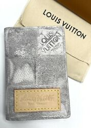 New Louis Vuitton Pocket Organizer Salt Light Grey N64349 Nwt Limited Sold Out