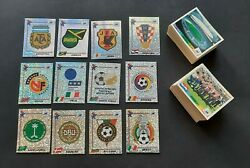 Lot Panini Wc France 98 1998 450 Different Stickers Badge Foil Top Condition