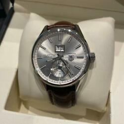 Auth Tag Heuer Watch Carrera War5011 Fc6291 Automatic Case 41mm Chrono Date F/s