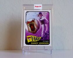 Topps Project 70 Randy Johnson - Card 214 By Alex Pardee