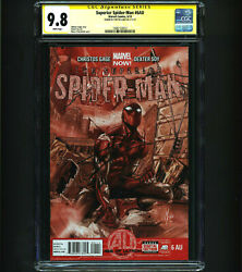 Superior Spider-man 6au Cgc 9.8 Ss Tom Holland Signed 1 Of 7 In Ss Rare Htf