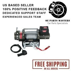Warn 47801 15000 Lbs 12v Vehicle Recovery Winch For Chevy/dodge/ford/gmc 92-19