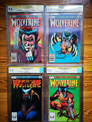 Wolverine Limited Series 1982 Cgc Signature - All 4 Issues Signed By Stan Lee