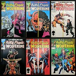 Kitty Pryde And Wolverine 1-6 1st Appearance Ogun Marvel 1984