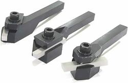 Quality Small Lathe Turning Tool Sets With Hss Tool Bits 8mm Sq. Shank