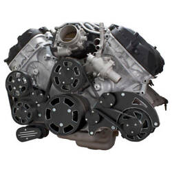 Black Diamond Serpentine System For Ford Coyote 5.0 Alternator And Power Steering