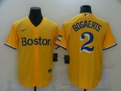 Men#x27;s Boston Red Sox Xander Bogaerts 2021 City Connect Jersey Players