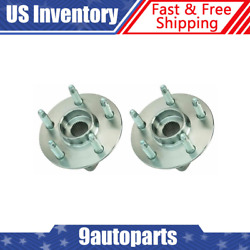 Timken Ha590486 Wheel Hub And Bearing Lh And Rh Pair Set Of 2 For Chevy Gmc