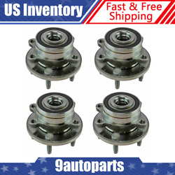 Timken Wheel Bearing And Hub Assembly 4 Piece Set Front And Rear For Ford Explorer