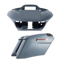 Inner Outer Fairing Stretched Saddlebags Fit For Harley Road Glide Fltrx 15-21