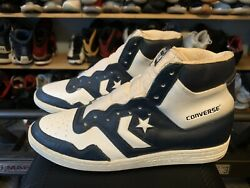 🔥new Old Stock Vintage Converse Startech Ds Sz 12 1985 Weapon Cons Magic Bird