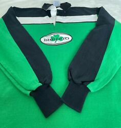 Rugby Wear Barbarian Mens Xxl Ireland Jersey Shirt Long Sleeve Cotton Vintage