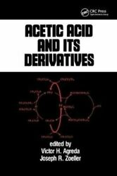 Acetic Acid And Its Derivatives By Victor H. Agreda 9780367402556 | Brand New