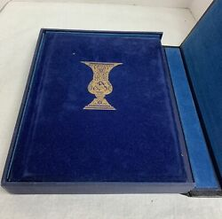 The Haggadah Illustrated By Arthur Szyk Edited By Cecil Roth W/ Velvet Case