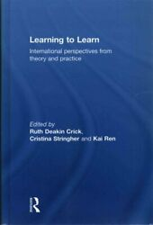 Learning To Learn International Perspectives From Theory And Pr... 9780415656238