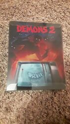 Demons 2 Steelbook Blu Ray/dvd Synapse Films Like New Watched Once Free Shipping