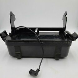 Humminbird Lcr Portable Fishfinder Battery Cover Base Case Power Cord