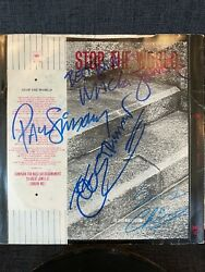The Clash Signed / Autographed Stop The World - Joe Strummer Roger Epperson