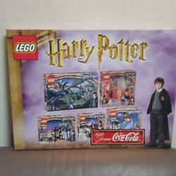 Lego Harry Potter Coca Cola Novelty Limited Rare Used From Japan Manual Ok.