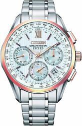Citizen Exceed Cc4034-57a Solar Radio Men's Watch Gps Sapphire Glass New In Box