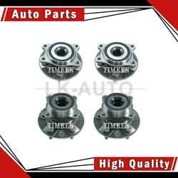 Timken Front Rear 4 Of Wheel Bearing And Hub Assemblys For Lexus Ls460