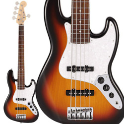 New Fender Made In Japan And03921collection Mij Hybrid Ii Jazz Bass V Metallic 3cs