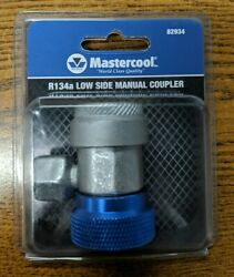 Mastercool 14 Mm-f X 13 Mm R-134a Low Side Safety Lock Manual Coupler
