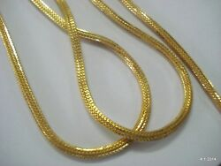 20k Gold Chain Necklace Ethnic Yellow
