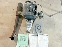 Ultralight Aircraft Rotax 447 Airplane Engine Complete Motor B Gearbox Exhaust
