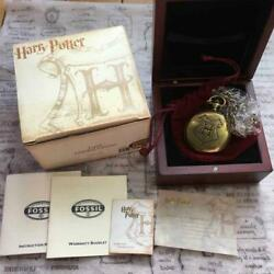 Harry Potter Dumbledore Pocket Watch Fossil Limited To 2500 Pieces Worldwide
