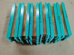 Vintage Edge Connector Gold Recovery 2kh43/1and5 8609 Lot 132 Pcs Nos