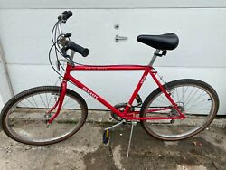 Vintage Sears Roebuck Free Spirit Dynasty 930se 10 Speed Bicycle Red 19andrdquo Frame