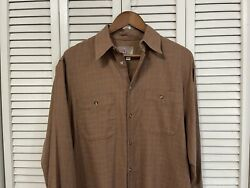 The Territory Ahead Multicolored Long Sleeve Button Up Casual Shirt Mens Medium