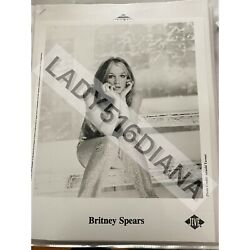 Vintage Britney Spears Picture/poster 1999 - Jive Records -authentic And Preserved