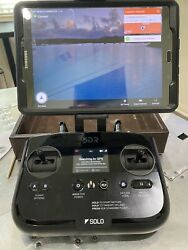 3dr Solo W/3axis Gopro Gimble, Gopro Hero 4, Samsung Tablet, 3 Flight Batteries