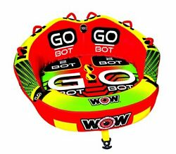 Wow Watersports Go Bot Towable, 1 To 2 Riders, Front And Back Tow Points, Towabl