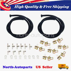 Performance Fuel Injector Return Line Kit For 04.5-10 Chevy Lly Lbz Lmm - Metal