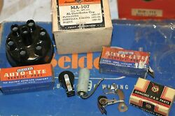 1936 1937 1938 Plymouth Distributor Cap Tune Up Kit