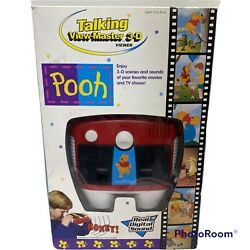 Rare Vintage 1997 Fisher Price Talking View Master 3d Viewer Winnie The Pooh
