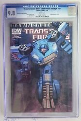 Transformers More Than Meets The Eye 31 1st Print Idw Variant 2014 Cgc 9.8