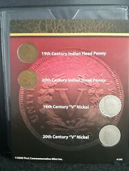 United States Coin Set Turn Of The Century Indian Cents Liberty Nickels