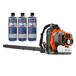 Husqvarna 350bt Backpack Blower Gas Powered Variable Speed W/ Pre-mix Fuel